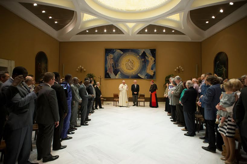 penticostalii si papa 1