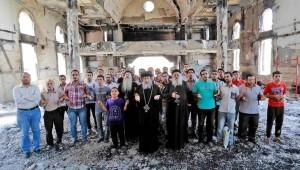 Biserică incendiată în Egipt în 2013